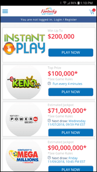 Download the Official Kentucky Lottery App - Kentucky Lottery
